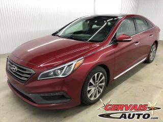 Used 2015 Hyundai Sonata 2.4L Sport Toit Panoramique Cuir/Tissus Mags for sale in Trois-Rivières, QC