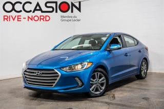 Used 2018 Hyundai Elantra GLS TOIT.OUVRANT+MAGS+BLUETOOTH for sale in Boisbriand, QC