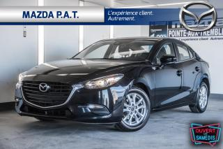 Used 2017 Mazda MAZDA3 AUTOMATIQUE,CAMÉRA DE RECUL,BLUETOOTH,MAG,A/C for sale in Montréal, QC