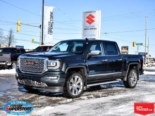 Used 2018 GMC Sierra 1500 Denali Ultimate Crew Cab 4x4 ~6.2L V8 ~Power Steps for sale in Barrie, ON