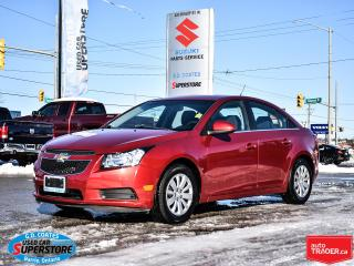 Used 2011 Chevrolet Cruze LT ~Power Windows + Locks ~Air Conditioning for sale in Barrie, ON
