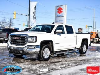 Used 2018 GMC Sierra 1500 SLE Crew Cab 4x4 ~Camera ~Power Seat ~Trailer Tow for sale in Barrie, ON