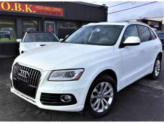 Used 2015 Audi Q5 Quattro-Progressiv-NAVIATION-CAM RECUL-TOIT PANORA for sale in Laval, QC
