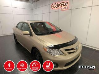 Used 2012 Toyota Corolla LE - TOIT OUVRANT - SIÈGES CHAUFFANTS for sale in Québec, QC