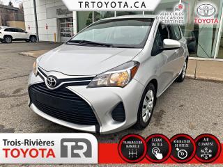 Used 2015 Toyota Yaris Hayon 5 portes, boîte manuelle, LE for sale in Trois-Rivières, QC