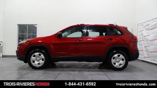 Used 2015 Jeep Cherokee SPORT + BLUETOOTH + DEMARREUR + CAMERA ! for sale in Trois-Rivières, QC
