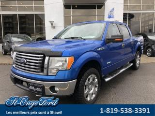Used 2012 Ford F-150 Cab SuperCrew 4RM 157 po XLT Ensemble XT for sale in Shawinigan, QC