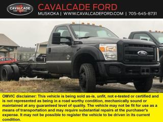 Used 2012 Ford F-550 Super Duty DRW XL for sale in Bracebridge, ON