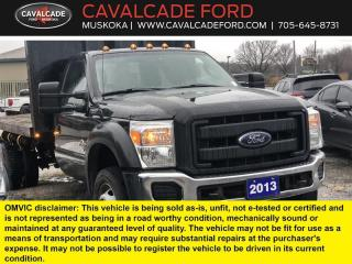Used 2013 Ford F-550 Super Duty DRW XL for sale in Bracebridge, ON