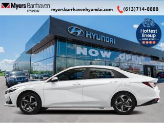 New 2021 Hyundai Elantra Preferred w/Sun & Tech Package IVT  - $157 B/W for sale in Nepean, ON