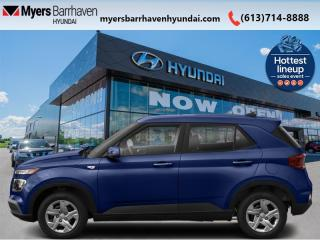 New 2021 Hyundai Venue Essential  - Android Auto - $128 B/W for sale in Nepean, ON