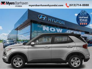 New 2021 Hyundai Venue Trend Urban Black  - Aluminum Wheels - $162 B/W for sale in Nepean, ON