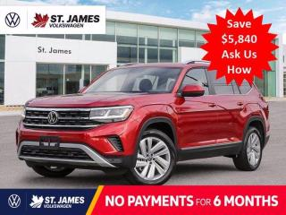 New 2021 Volkswagen Atlas Highline ***DEMO*** for sale in Winnipeg, MB