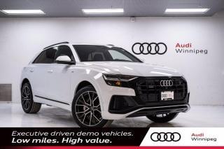 New 2021 Audi Q8 Progressiv for sale in Winnipeg, MB
