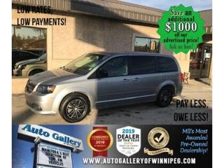 Used 2017 Dodge Grand Caravan SXT+* Bluetooth/DVD/R. air for sale in Winnipeg, MB