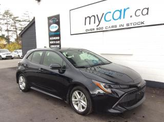 Used 2019 Toyota Corolla Hatchback ALLOYS, HEATED SEATS, BACKUP CAM, BLUETOOTH!! for sale in Kingston, ON