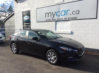Used 2018 Mazda MAZDA3 GX BACKUP CAM, POWERGROUP, A/C!! for sale in Kingston, ON