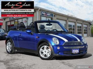 Used 2006 MINI Cooper Convertible ONLY 126K! **CLEAN CARPROOF** MINT MINT MINT!!! for sale in Scarborough, ON