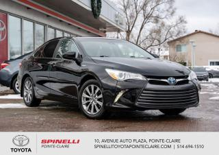 Used 2016 Toyota Camry HYBRID XLE CUIR, TOIT, MAGS for sale in Pointe-Claire, QC