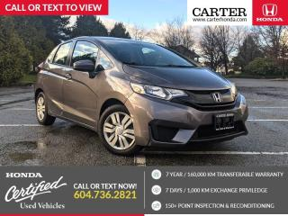 Used 2017 Honda Fit LX HEATED SEATS + BACK-UP CAMERA + BLUETOOTH for sale in Vancouver, BC
