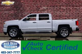 Used 2017 Chevrolet Silverado 1500 4x4 Crew Cab LTZ Z71 Leather Roof Nav BCam for sale in Red Deer, AB