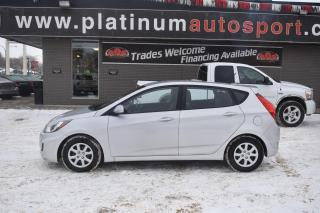 Used 2014 Hyundai Accent GL HEATED SEATS!! BLUETOOTH!! for sale in Saskatoon, SK