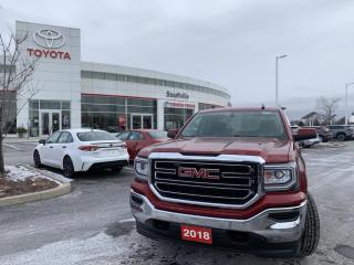 Used 2018 GMC Sierra 1500 SIERRA 1500 SLE CREW CAB - SIDE STEPS - SOFT TONNEAU COVER - TRAILER HITCH - WINDOW DEFLECTORS for sale in Stouffville, ON