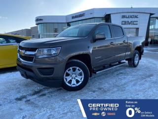 Used 2017 Chevrolet Colorado LT 4x4 Crew Cab Long Box | Touchscreen Radio for sale in Winnipeg, MB