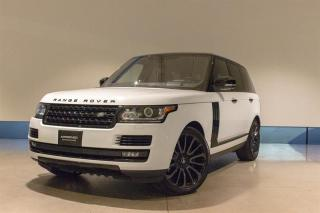 Used 2017 Land Rover Range Rover V8 Supercharged SWB for sale in Langley City, BC
