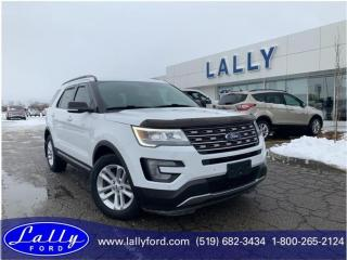 Used 2017 Ford Explorer XLT, Leather, Navigation, One Owner!! for sale in Tilbury, ON