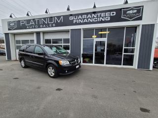 Used 2014 Dodge Grand Caravan Crew for sale in Kingston, ON