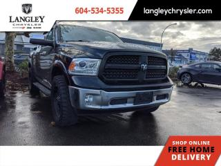 Used 2013 RAM 1500 Laramie  Low Km/ Loaded/ After Market Exhaust/ Local for sale in Surrey, BC