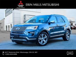 Used 2019 Ford Explorer Platinum|NO ACCIDENTS|NAV|CAM|DUAL SUNROOF|ONE OWNER for sale in Mississauga, ON
