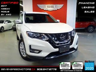 Used 2017 Nissan Rogue SV AWD | CERTIFIED | FINANCE @4.65% for sale in Oakville, ON