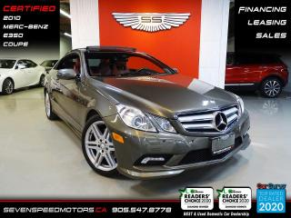 Used 2010 Mercedes-Benz E-Class E350 | CERTIFIED | RED INT | FINANCE @ 4.65% for sale in Oakville, ON