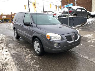 Used 2007 Pontiac Montana w/1SA/7PASSENGER/AUTO/CERTIFIED/3MONTHWARRATY for sale in Toronto, ON