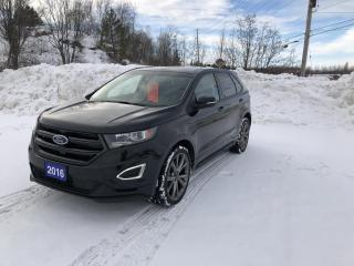Used 2016 Ford Edge SPORT for sale in North Bay, ON