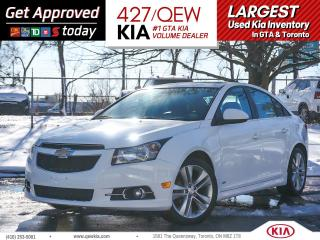 Used 2014 Chevrolet Cruze 2LT for sale in Etobicoke, ON