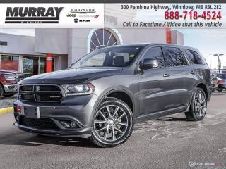 Used 2017 Dodge Durango GT *AWD   Sunroof   7 Seater   DVD* for sale in Winnipeg, MB
