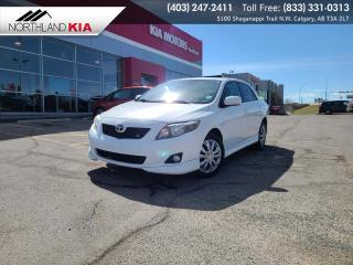 Used 2010 Toyota Corolla S SUNROOF, LEATHER SEATS for sale in Calgary, AB