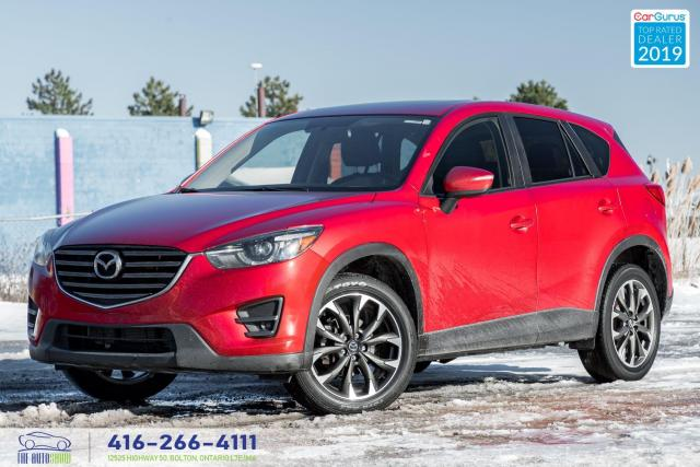 2016 Mazda CX-5 GT|AWD|Navi|Leather|Clean Carfax|
