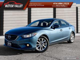 Used 2014 Mazda MAZDA6 GS-SKY SUNROOF 1-OWNER NO ACCIDENT! for sale in Scarborough, ON