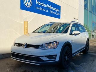 Used 2017 Volkswagen Golf Alltrack 1.8T W/ TECH PKG! VW CERTIFIED for sale in Edmonton, AB