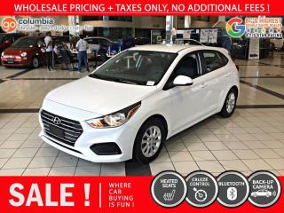 Used 2019 Hyundai Accent Preferred - Accident Free / Local / No Dealer Fees / One Owner for sale in Richmond, BC