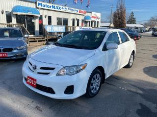 Used 2013 Toyota Corolla CE-Sunroof-We Finance for sale in Stoney Creek, ON