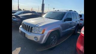 Used 2005 Jeep Grand Cherokee Limited/AUTO/LEATHER/CERTIFIED/3MONTWAR/DVD for sale in Toronto, ON