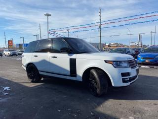 Used 2016 Land Rover Range Rover SUPERCHARGED*5.0L*NAV*PANO ROOF*DVD for sale in London, ON