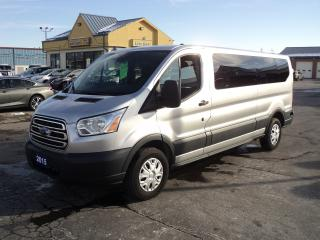 Used 2015 Ford Transit 350 XLT LowRoof 3.7L 6cyl  12Pass BackUpCam for sale in Brantford, ON