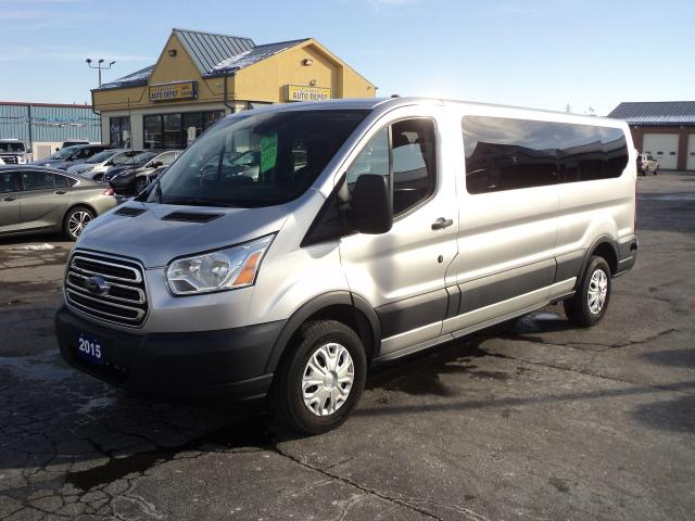 2015 Ford Transit 350 XLT LowRoof 3.7L 6cyl  12Pass BackUpCam