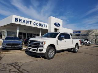 Used 2020 Ford F-350 Platinum for sale in Brantford, ON